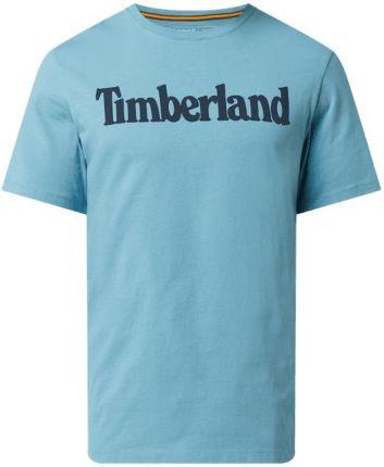T shirt o kroju regular fit z bawełny ekologicznej model 'Kennebec' - Ceny i opinie T-shirty i koszulki męskie VFCM