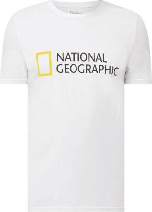 T shirt o kroju regular fit z bawełny ekologicznej - Ceny i opinie T-shirty i koszulki męskie LRMF