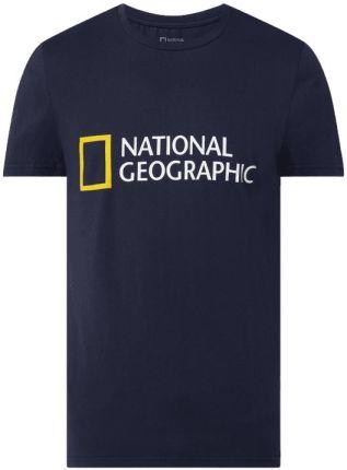 T shirt o kroju regular fit z bawełny ekologicznej - Ceny i opinie T-shirty i koszulki męskie YFGW