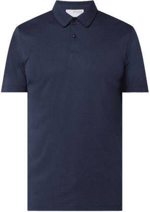 Koszulka polo z mieszanki bawełny ekologicznej model 'Leroy' - Ceny i opinie T-shirty i koszulki męskie PINC