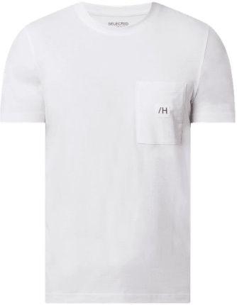 T shirt z bawełny ekologicznej model 'Enzo' - Ceny i opinie T-shirty i koszulki męskie AMAC