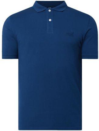 Koszulka polo z wyhaftowanym logo - Ceny i opinie T-shirty i koszulki męskie LUTU