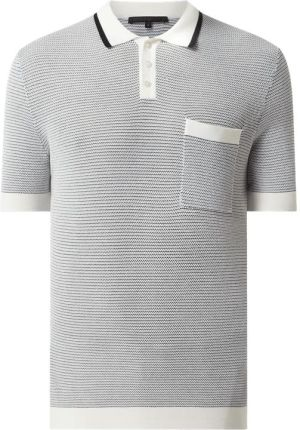Koszulka polo z bawełny model 'Dukan' - Ceny i opinie T-shirty i koszulki męskie JDWN