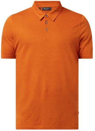 Koszulka polo z mieszanki lnu i bawełny - Ceny i opinie T-shirty i koszulki męskie XMFW