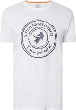 T shirt z gumowym logo - Ceny i opinie T-shirty i koszulki męskie NRNI