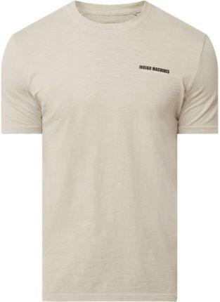 T shirt z bawełny ekologicznej model 'Dilan' - Ceny i opinie T-shirty i koszulki męskie FPDK