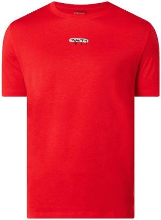 T shirt z logo model 'Durned' - Ceny i opinie T-shirty i koszulki męskie VOKZ