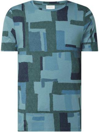 T shirt z bawełny ekologicznej model 'Jaames' - Ceny i opinie T-shirty i koszulki męskie JCIT
