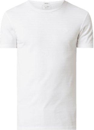 T shirt z mieszanki bawełny - Ceny i opinie T-shirty i koszulki męskie FWDF
