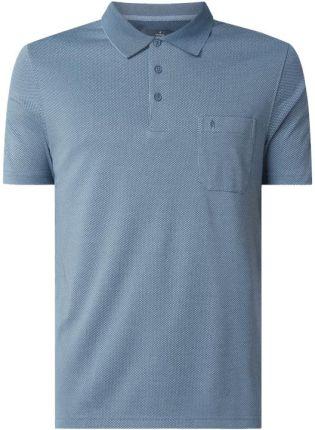 Koszulka polo z tkanym wzorem - Ceny i opinie T-shirty i koszulki męskie LTLI