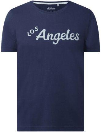 T shirt o kroju regular fit z bawełny - Ceny i opinie T-shirty i koszulki męskie YWSQ