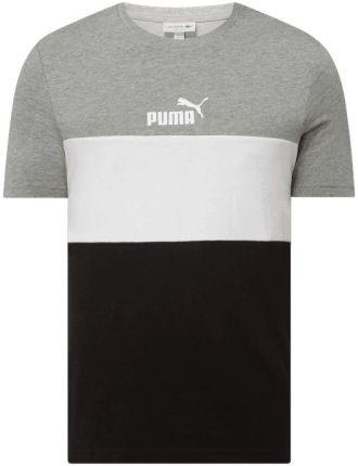 T shirt z o kroju regular fit z logo - Ceny i opinie T-shirty i koszulki męskie ENUZ