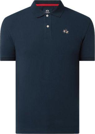 Koszulka polo o kroju slim fit z dodatkiem streczu - Ceny i opinie T-shirty i koszulki męskie AHJK