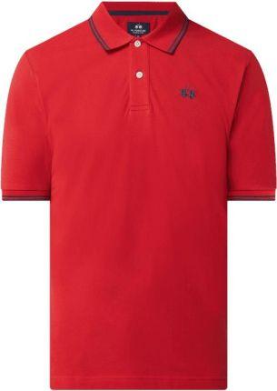 Koszulka polo o kroju regular fit z bawełny - Ceny i opinie T-shirty i koszulki męskie DVLE