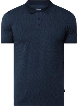 Koszulka polo z delikatnym wzorem model 'Poleo' - Ceny i opinie T-shirty i koszulki męskie LMJB
