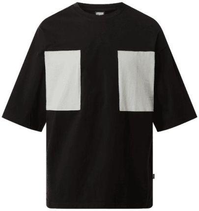 T shirt z obszyciem w kontrastowym kolorze - Ceny i opinie T-shirty i koszulki męskie AHLI