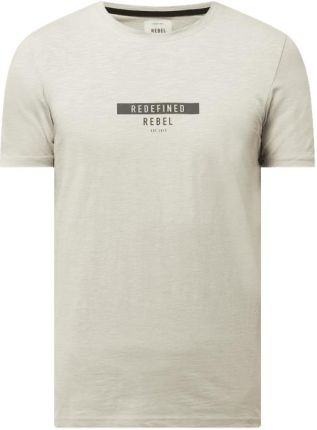 T shirt z detalami z logo model 'Guti' - Ceny i opinie T-shirty i koszulki męskie ZZBI