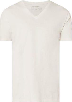 T shirt z bawełny ekologicznej model 'Vee' - Ceny i opinie T-shirty i koszulki męskie WCPI