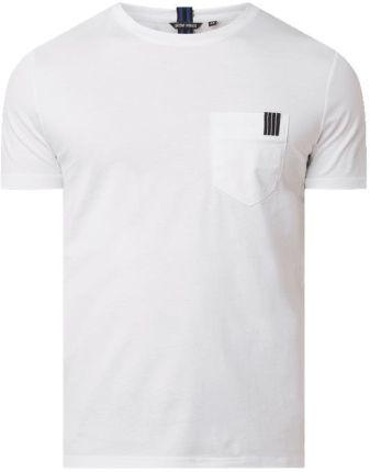 T shirt o kroju slim fit z bawełny - Ceny i opinie T-shirty i koszulki męskie KGQU