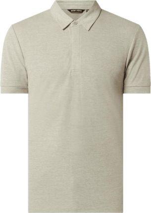 Koszulka polo z mieszanki wiskozy - Ceny i opinie T-shirty i koszulki męskie UNNS