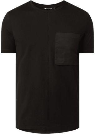 T shirt o kroju regular fit z kieszenią na piersi - Ceny i opinie T-shirty i koszulki męskie QHOG