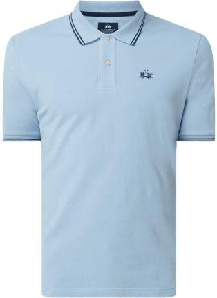 Koszulka polo o kroju regular fit z bawełny - Ceny i opinie T-shirty i koszulki męskie JRXE