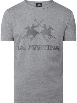 T shirt o kroju regular fit z bawełny - Ceny i opinie T-shirty i koszulki męskie GZHT