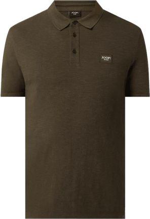 Koszulka polo z mieszanki lnu i bawełny model 'Loxias' - Ceny i opinie T-shirty i koszulki męskie AQBY
