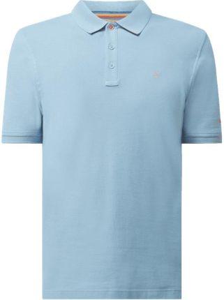 Koszulka polo z piki model 'Raphael' - Ceny i opinie T-shirty i koszulki męskie OPMZ