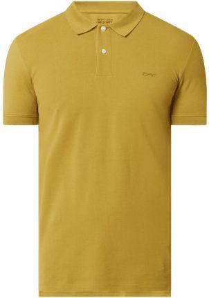 Koszulka polo o kroju slim fit z bawełny ekologicznej - Ceny i opinie T-shirty i koszulki męskie KPYV