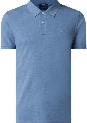 Koszulka polo o kroju regular fit z bawełny - Ceny i opinie T-shirty i koszulki męskie OHXB