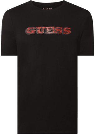 T shirt o kroju slim fit z logo - Ceny i opinie T-shirty i koszulki męskie YRAC