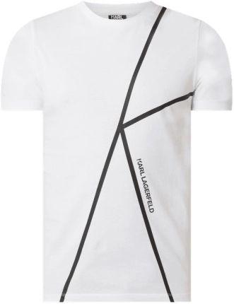 T shirt z nadrukiem z logo - Ceny i opinie T-shirty i koszulki męskie PPEF