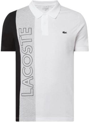 Koszulka polo o kroju regular fit z bawełny - Ceny i opinie T-shirty i koszulki męskie AAKN