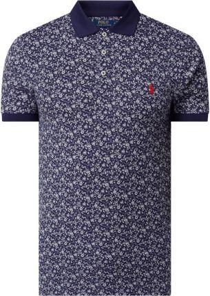 Koszulka polo o kroju slim fit z dodatkiem streczu - Ceny i opinie T-shirty i koszulki męskie TQKL