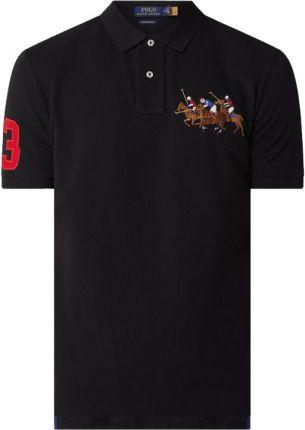 Koszulka polo o kroju custom slim fit z piki - Ceny i opinie T-shirty i koszulki męskie XKPJ