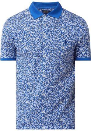 Koszulka polo we wzory na całej powierzchni - Ceny i opinie T-shirty i koszulki męskie RTQQ