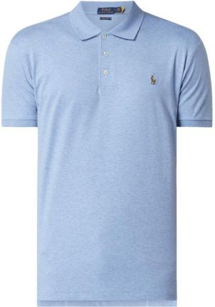 Koszulka polo o kroju custom slim fit z wyhaftowanym logo - Ceny i opinie T-shirty i koszulki męskie MJKL