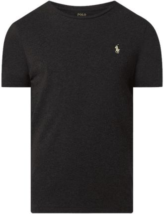 T shirt o kroju custom slim fit z bawełny - Ceny i opinie T-shirty i koszulki męskie MPQO