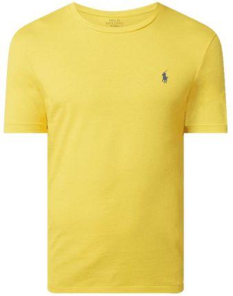 T shirt o kroju custom slim fit z bawełny - Ceny i opinie T-shirty i koszulki męskie TREH