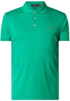 Koszulka polo o kroju custom slim fit z wyhaftowanym logo - Ceny i opinie T-shirty i koszulki męskie DNKX