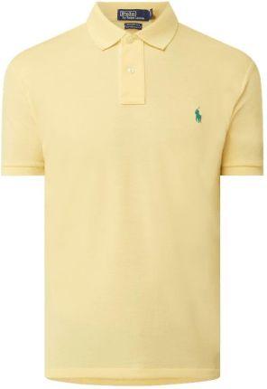 Koszulka polo o kroju custom slim fit z logo - Ceny i opinie T-shirty i koszulki męskie DDJN