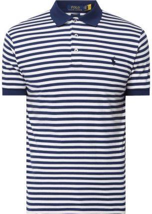 Koszulka polo o kroju Slim Fit z dżerseju - Ceny i opinie T-shirty i koszulki męskie HFUM