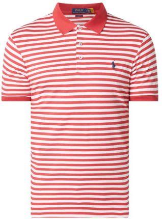 Koszulka polo o kroju Slim Fit z dżerseju - Ceny i opinie T-shirty i koszulki męskie NQEK