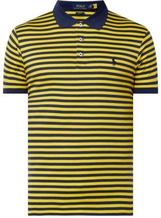 Koszulka polo o kroju Slim Fit z dżerseju - Ceny i opinie T-shirty i koszulki męskie WRNX