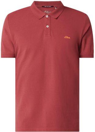 Koszulka polo o kroju regular fit z bawełny - Ceny i opinie T-shirty i koszulki męskie IAPO