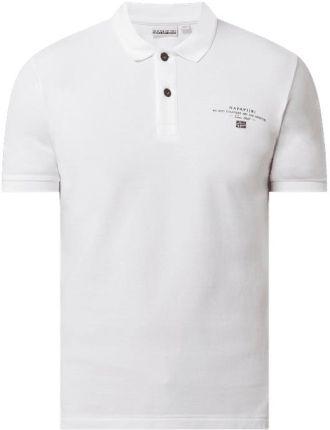 Koszulka polo z piki model 'Elbas' - Ceny i opinie T-shirty i koszulki męskie NAQF