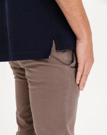 Tommy Hilfiger Tipped Signature Polo Koszulka Niebieski - Ceny i opinie T-shirty i koszulki męskie LCAG