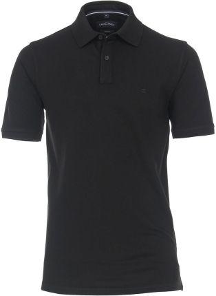 Koszulka polo CASA MODA czarna - Ceny i opinie T-shirty i koszulki męskie PMHY