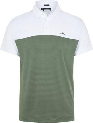 J.Lindeberg Owen Slim Fit Mens Polo Shirt Thyme Green L - Ceny i opinie T-shirty i koszulki męskie LHLO